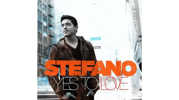 "Stefano's ""Yes To Love"" single cover."