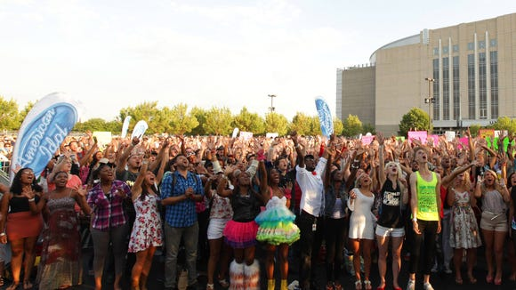 """""""American Idol"""" Chicago auditions"""