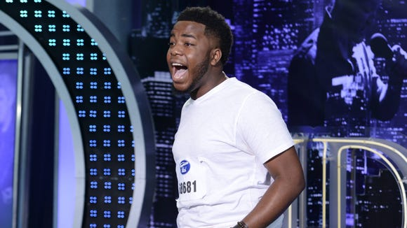 "Burnell Taylor auditions for ""American Idol"""