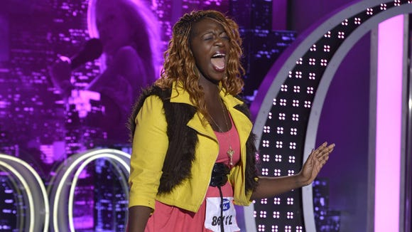 """Zoanette Johnson auditions for """"American Idol."""""""