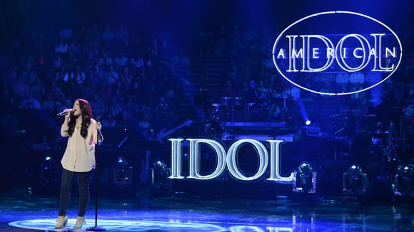 Kree Harrison performs on 'American Idol.'