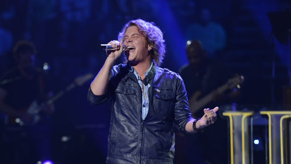 Jimmy Smith performs in the Sudden Death Round of AMERICAN IDOL.