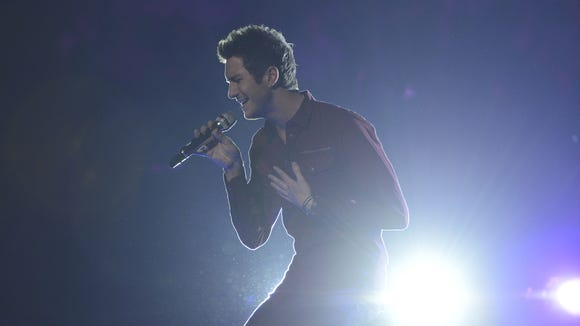 Paul Jolley performs in the Sudden Death Round of AMERICAN IDOL.