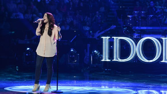 Kree Harrison performs in the Sudden Death Round of AMERICAN IDOL.