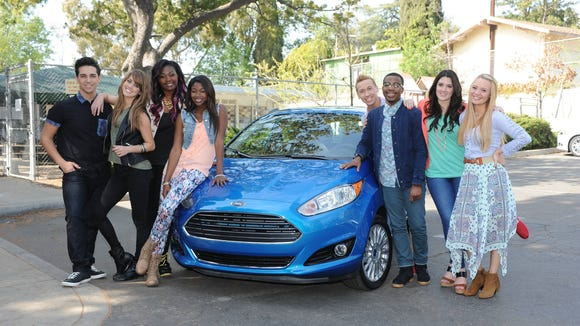 "The ""American Idol"" Top 8 with a Ford Fiesta"