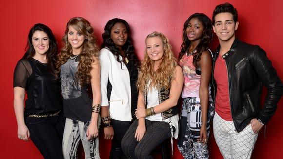 "The ""American Idol"" Top 6"