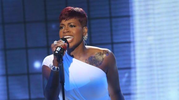 Fantasia performs on 'American Idol.'