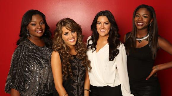 "The ""American Idol"" Top Four"