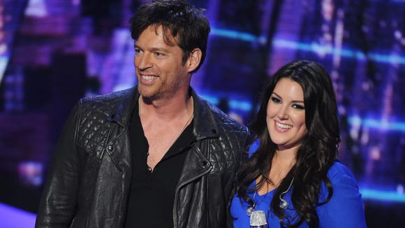 Harry Connick Jr. and Kree Harrison