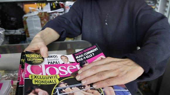 Closer newsstand