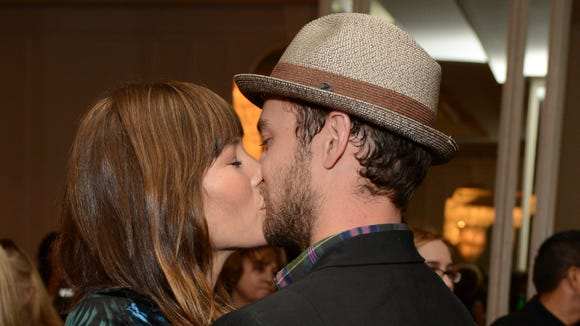 Justin Timberlake kiss