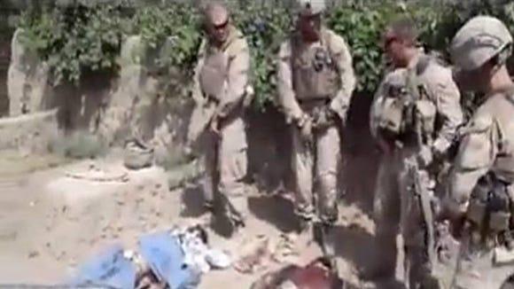 Marines urination video