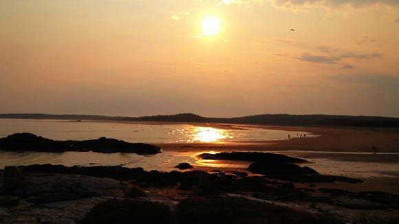 American Sunscapes: Phippsburg Maine