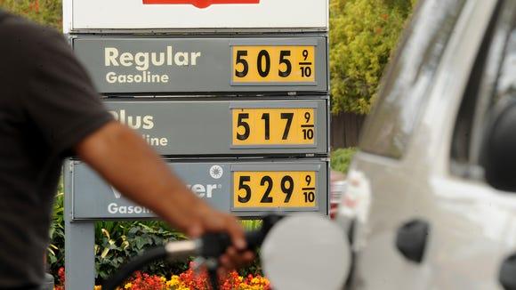 gasoline Calif.