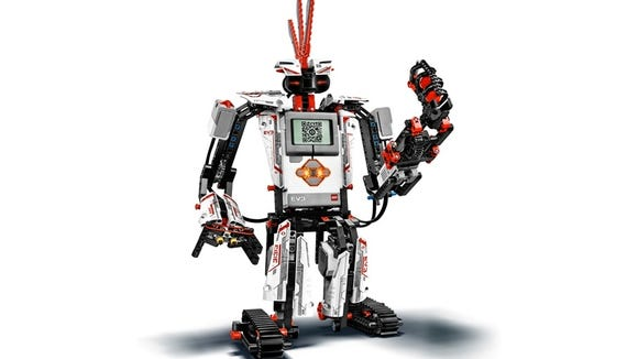 Lego Mindstorms EV3: Build, program a robot in 20 minutes