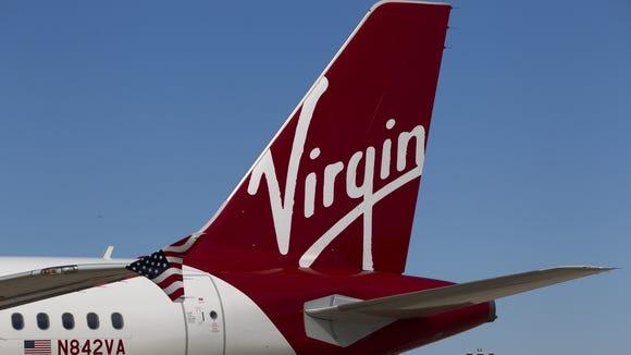 Virgin America curb