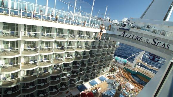Royal Caribbean Orders Third Oasisclass Ship - Allure cruise ship
