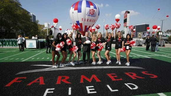 Sale Of Sports Giant Aeg Clouds Hopes For Nfl La Team