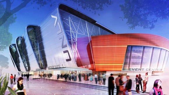 Unlv S New Football Stadium Will Have A 100 Yard Video Screen