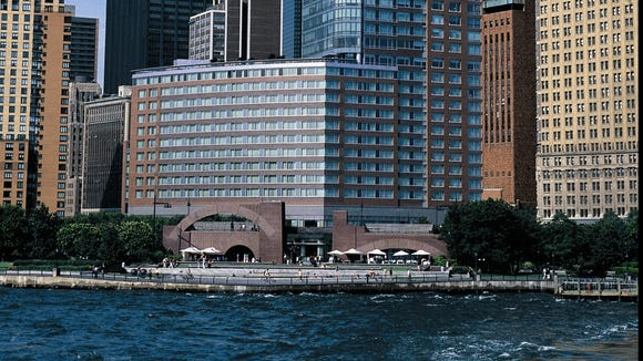 Ritz Carlton Battery Park Reopens After Sandy