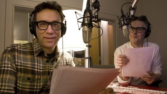 Fred Armisen Ira Glass