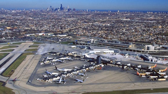 Chicago Midway Opens 55m Consolidated Rental Car Facility