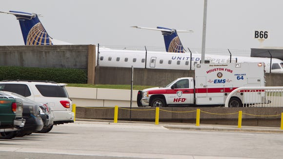 Police: Shots Fired Inside Houston Intercontinental Airport