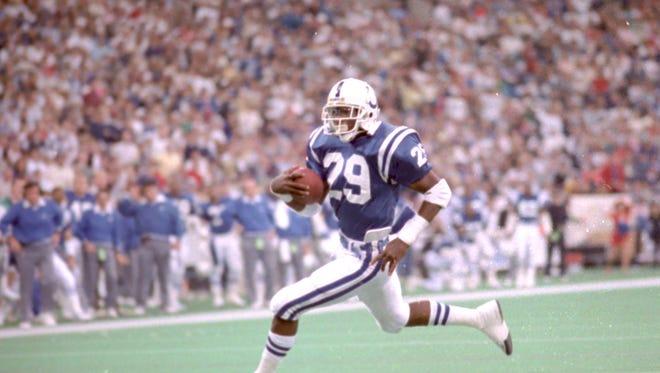Eric Dickerson 10/31/88 against Denver