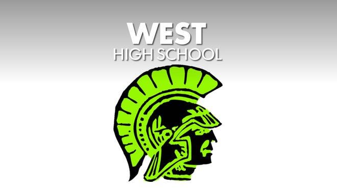 West High Trojan logo.