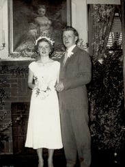 Richard and Mary Ann Kibbey married as teenagers in