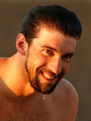 """""""It's a good starting point,"""" Michael Phelps said after"""