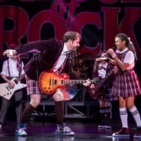 'School of Rock' musical led by its dynamic youth