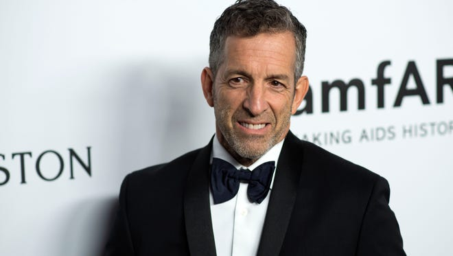 Designer Kenneth Cole at the amfAR Gala Los Angeles on October 13, 2017 in Beverly Hills, California.