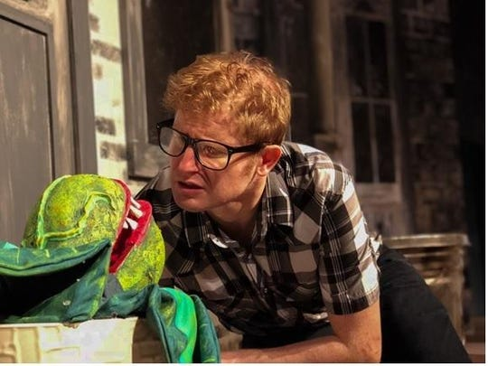 "Richard Armstrong starred as Seymour in the Elmira Little Theatre production of ""Little Shop of Horrors"" in September of 2018."