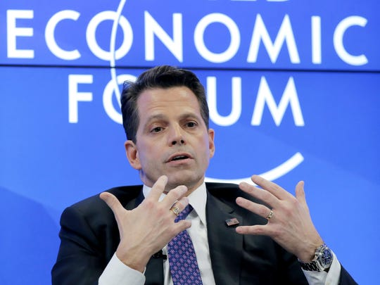 New York financier Anthony Scaramucci is under consideration to join the Trump administration as communications director.