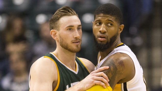 Gordon Hayward can opt out of his contract and become a free agent. Could a homecoming interest him?