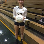 Set in Stone: Elco volleyball player Maddie Stone surpasses 1,000 career assists