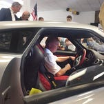 Purdue celebrates arrival of Keating Supercars USA showroom