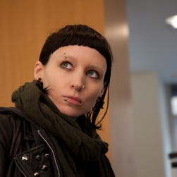Rooney Mara in the film adaptation of 'The Girl with the Dragon Tattoo.'