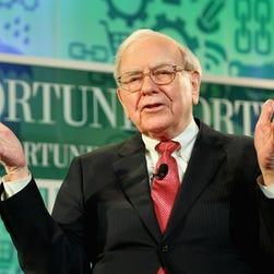 Warren Buffett speaks onstage at the FORTUNE Most Powerful Women Summit on October 16, 2013 in Washington, DC.