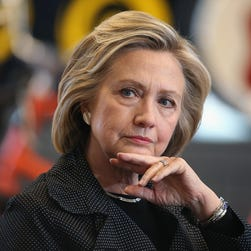 Hillary Clinton speaks to the media for the first time about her use of a private email server while serving as secretary of State on March 10, 2015, in New York.