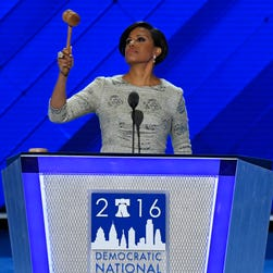 Monday at the Democratic National convention