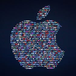 (FILES) This file photo taken on June 13, 2016 shows the Apple logo displayed on a screen at Apple's annual Worldwide Developers Conference presentation at the Bill Graham Civic Auditorium in San Francisco, California. Apple on August 8, 2016 confirmed that it has bought US machine learning startup Turi as Silicon Valley giants focus on a future rich with artificial intelligence. Turi specializes in enabling developers to imbue software applications with artificial intelligence, so the apps learn to think more the way people do.  / AFP PHOTO / GABRIELLE LURIEGABRIELLE LURIE/AFP/Getty Images ORG XMIT: Apple buy ORIG FILE ID: AFP_E45P5