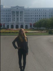 The Greenbrier is a luxury resort located in the Allegheny