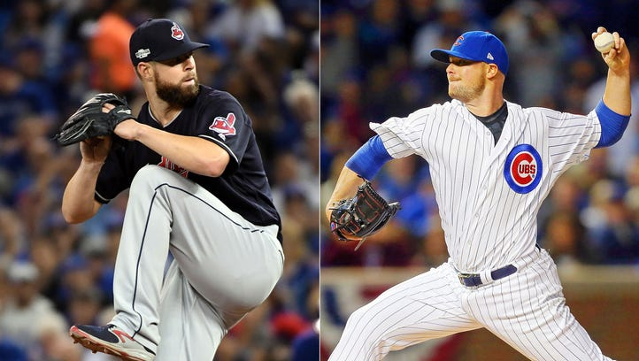 Corey Kluber and Jon Lester are likely the starters