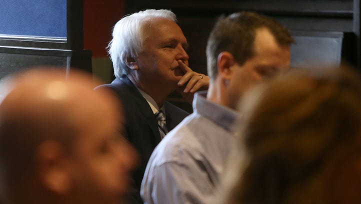 Ron Ramsey speaks to Madison County Republican Party