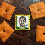 Please pass the Aaron Rodgers cheddar snack