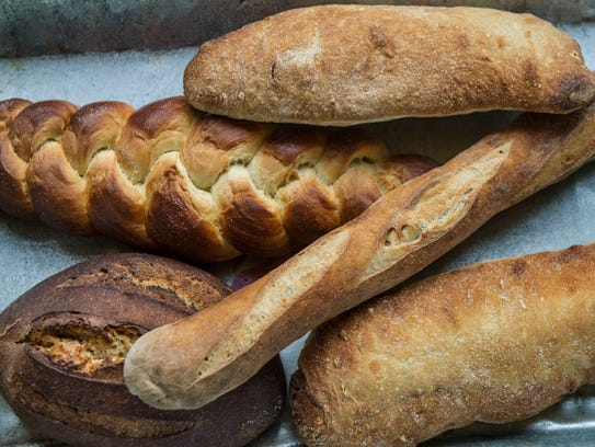 Breads served at The  Village Bakery and Provisions