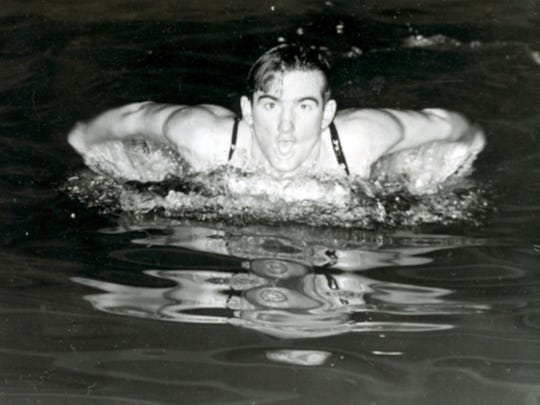 Bill Schmidt, a member of William Penn High School's Class of 1942, held the national scholastic and national YMCA records for the 100-yard breaststroke in 1941 and '42. He also defeated college swimming champions, placing second in the 220-yard breaststroke at the National AAU Swimming Championships during his senior year.