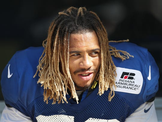 Indianapolis Colts inside linebacker Edwin Jackson was among two people killed in the crash.